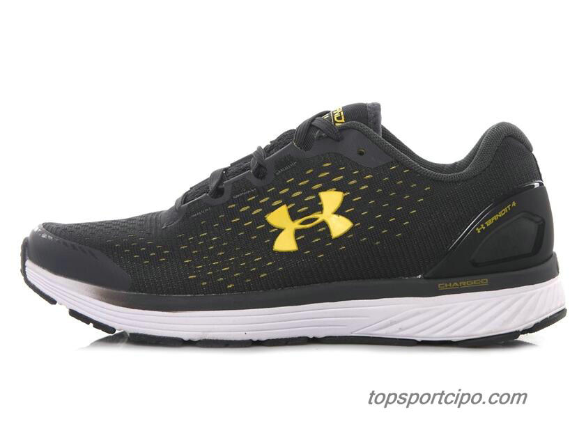 2019 Under Armour Charged Bandit 4 Férfi Cipő (Fekete / Arany)