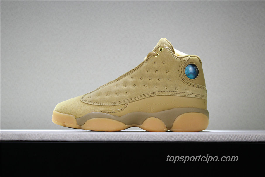 Air Jordan 13 Retro Wheat AJ13 Női Cipő 414574-705 (Barna)