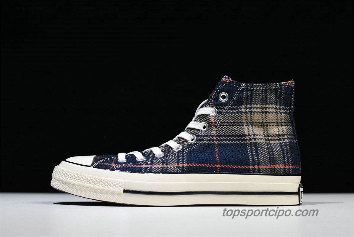 Converse Chuck Taylor All Star 1970s HI Plaid Unisex Cipő 162406C (Gingham)
