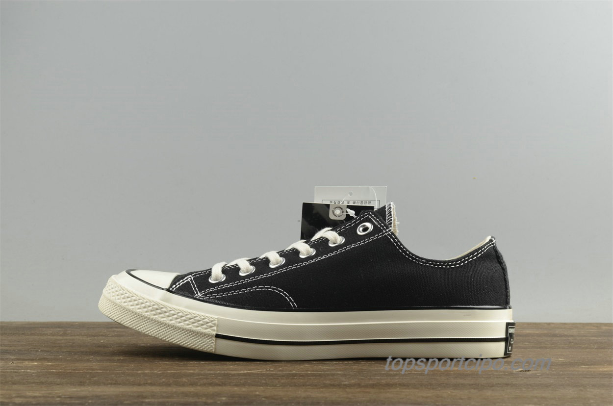 Converse Chuck Taylor All Star 1970s Low Unisex Cipő 144757C (Fekete)