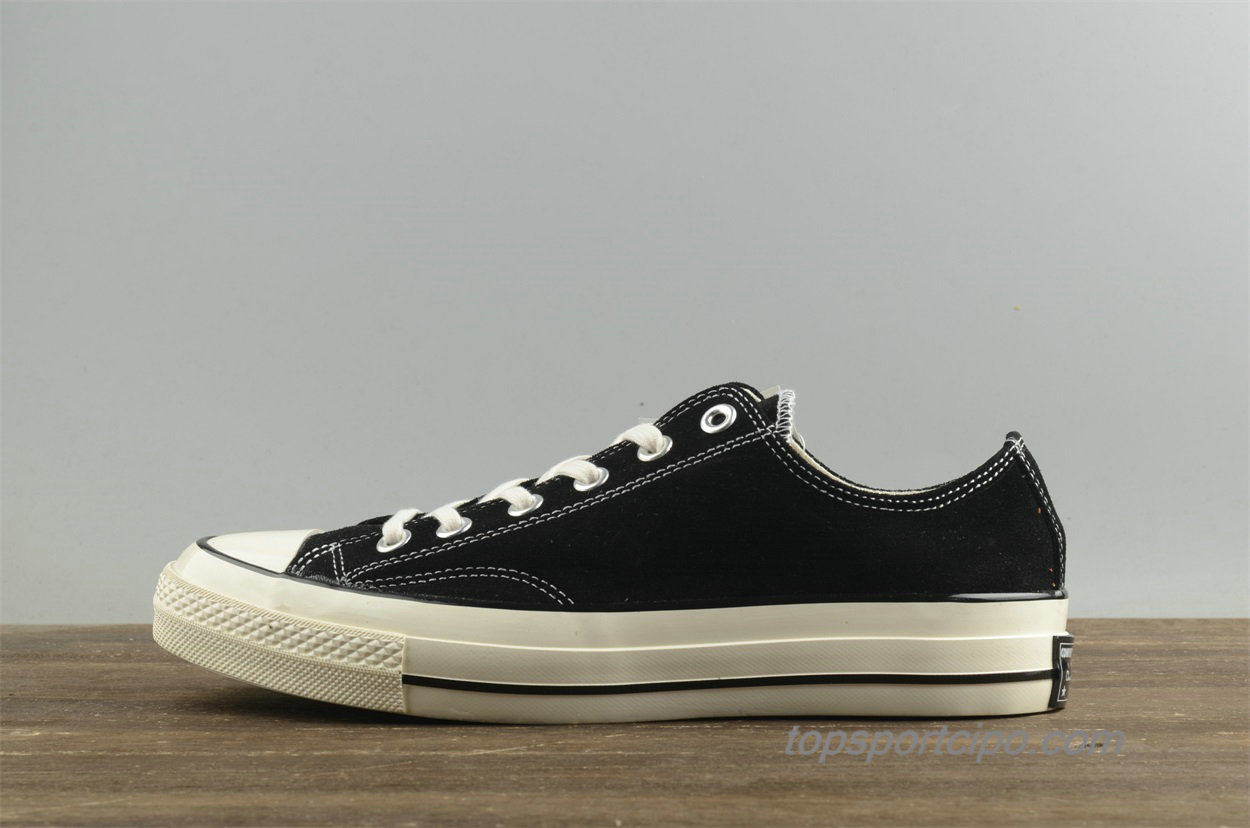 Converse Chuck Taylor All Star 1970s Low Suede Unisex Cipő 157452C (Fekete)