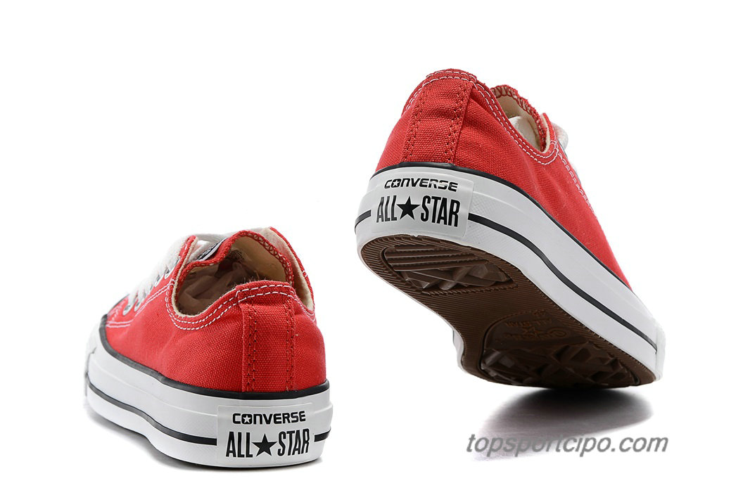 Converse Chuck Taylor All Star Low Classic Unisex Cipő 101007C (Piros)