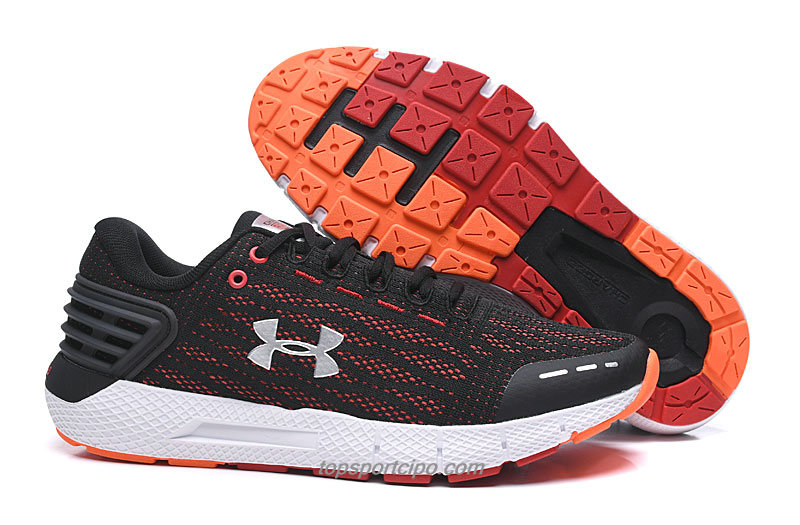Under Armour Charged Rogue Férfi Cipő (Fekete / Piros / Ezüst)